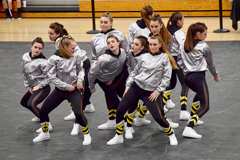 girls dance team matching uniforms